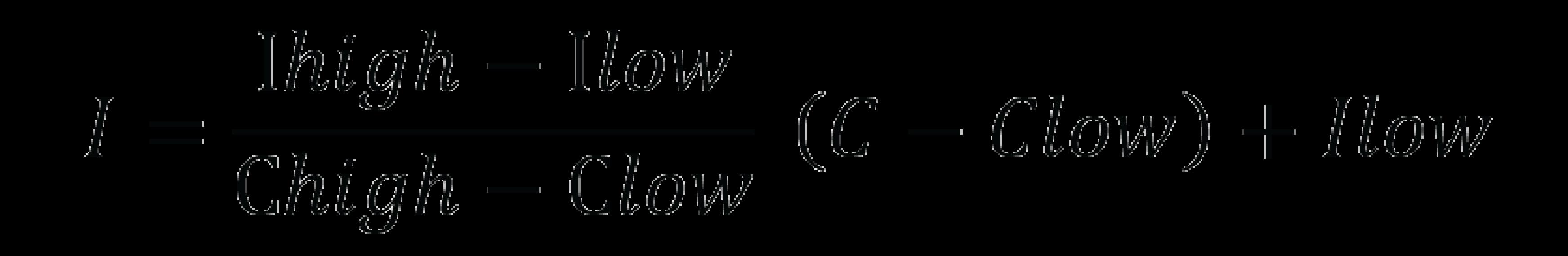 AQI Formula